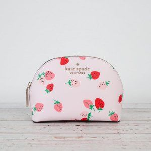 NWT Kate Spade Staci Strawberry Small Dome Pouch